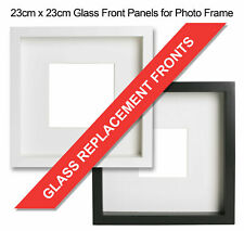 20 x Replacement Glass Fronts for Ribba Photo Picture Frame 23x23cm