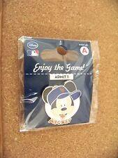 NY New York Mets Mickey Mouse portrait Disney lapel pin MLB