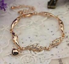 Hot sale elegant bracelet rose gold hollow fashion cute fox head pendent female