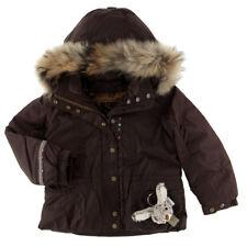 Veste blouson  ski poivre blanc taille 4 ans couleur marron