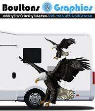 Par Eagle Autocaravana Camper Caravana Gráfico auto-adhesivo Horsebox Vinyl Decals