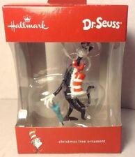 Hallmark Dr Seuss Cat in the Hat Christmas Tree Ornament Hanging Decor w/ Box