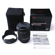 Sigma 17-50mm F2.8 EX DC OS HSM Zoom Lens for Canon Mount #SI133X