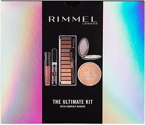 Rimmel The Ultimate Kit Gift Set Mirror Mascara Magnif'eyes Lipstick Eyeshadow