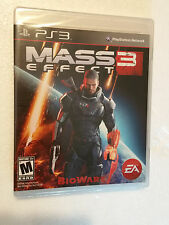 NEW Mass Effect 3 (Sony PlayStation 3, 2012) PS3 Factory Sealed