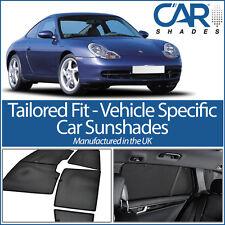 Porsche Carrera 4 2dr 97-04 UV CAR SHADES WINDOW SUN BLINDS PRIVACY GLASS TINT