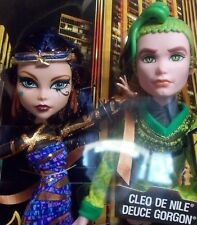 MATTEL MONSTER HIGH BOO YORK CLEO DE NILE AND DEUCE GORGON DOLLS - SHIPS FREE!