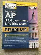 The Princeton Review Cracking the AP US Gov/Politics Exam | Brand New | 2020 Ed.