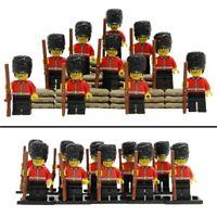 10pcs CUSTOM Royal Guard 8805 MIlitary Army Police for LEGO Minifigure Figure