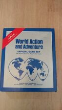World Action and Adventure Official Game Set ** RARE ** Role-Play -FREE Shipping