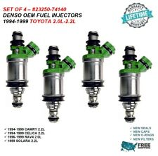 Denso Fuel Injector Set for Toyota 2.0//2.2 23250-74140 CA emissions