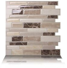 (5) - Tic Tac Tiles - Premium Anti Mould Peel and Stick Wall Tile Backsplash
