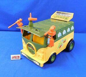 Vintage 1989 Party Wagon Vehicle Toy TMNT Ninja Turtles Playmates Toys Complete