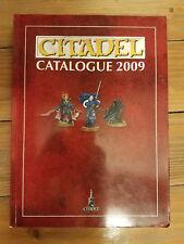 Warhammer 40K Fantasy Citadel Catalog 2009 Softcover