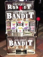 One Armed Bandit  Slot  bank machine [batteries operated}
