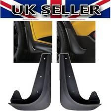 2XPc Car PVC Rubber MUDFLAPS Mud Flaps Mudguards Front & Rear UNIVERSAL #B25213