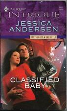 Classified Baby by Jessica Andersen.  Harlequin Intrigue #1005 (2007)