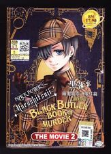 *NEW* BLACK BUTLER BOOK OF MURDER MOVIE TWO *ENGLISH SUBS*ANIME DVD*US SELLER*