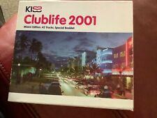 KISS.     Club life 2001.     Double CD.   Free postage.