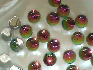 Full PACK 48 Fab Preciosa Czech Heliotrop Or Vitrail 12 MM Balls Wild Colors !