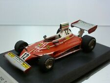 TENARIV FERRARI 312 T - GP MONACO 1975 - LAUDA #12 - F1 RED 1:43 - GOOD on BASE