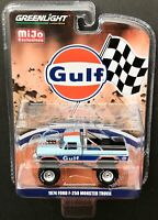 GREENLIGHT Gulf 1974 Ford F-25 Monster Truck 1:64