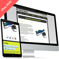 eBayvorlage 2020 RESPONSIVE Auktionsvorlage HTML Template ohne aktive Inhalte
