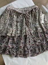 NEW L'Agence $320 100% Silk Peasant Skirt - S/P