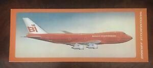 Braniff 747 Poarcard