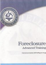 REAL ESTATE FORECLOSURE TRAINING SERIES PRINTABLE MANUAL ON CDROM
