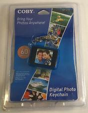 COBY Digital Photo Keychain Key Ring LCD Screen USB DP151 60 Photos 2009 NEW