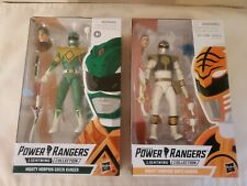 Power Rangers Lightning Collection Green And White Ranger Lot New