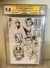 CGC 9.8 SS George Perez Bob Layton Adam Bellman Jim Shooter art sketch cover jam Comic Art