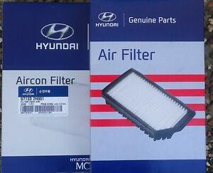 Hyundai Genuine i30 GD (MY12-16) petrol Service kit - Oil, Air, Aircon filter.