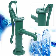 New Home Plumbing Cast Iron Green Hand Well Pump Manual Water Pump 67*24*17Cm