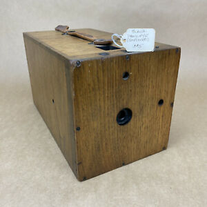 Blair Hawkeye 1895 (Improved) Detective Wooden Box Camera - CLEAN & RARE