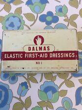 Vintage Retro First Aid Items Storage Tin