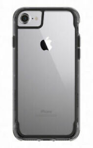 Case Griffin Survivor Clear Case for Apple iPhone 6,6S,7,8 - Black CLEAR