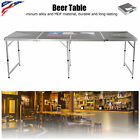 Foldable Tennis Table Portable Beer Table Outdoor Camping BBQ Party Patio Desk