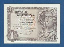 ESPAÑA // SPAIN -- 1 PESETA ( 1948 ) -- SC- // aUNC -- SERIE Ñ -- PICK 135a .