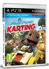 LITTLEBIGPLANET KARTING PS3 LITTLE BIG PLANET Sony PlayStation 3 Game UK Rel New