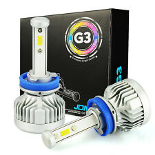 JDM ASTAR G3 8000LM 72W H9 ZES LED Headlight High Beam Bulbs Lamps White Bright