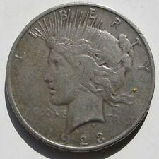 USA , 1 DOLLAR - DOLAR PEACE DE 1923 S . PLATA