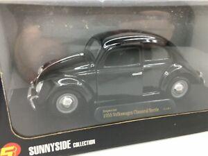 SUNNYSIDE COLLECTION** 1955 Volkswagen Beetle  *** VW ** BLACK *** 1:24 Scale *
