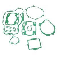 For Kawasaki KX250 90-91 Engine Clutch Stator Cover Cylinder Base Gasket Kit Set