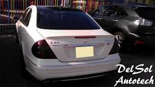 for Painted 03-09 Mercedes-Benz W211 E350 E550 E63 AMG Rear Trunk Spoiler Lip