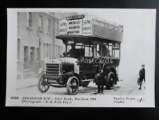 Omnibus GRAVESEND D/D KENT ROAD DARTFORD Pamlin Print Postcard No.M2308