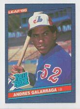 1986 LEAF RC #27 ANDRES GALARRAGA EXPOS MINT L@@k CHEAP