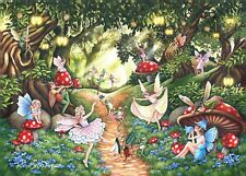 House of Puzzles Big 500 piece jigsaw puzzle - Faerie Dell - New & Sealed