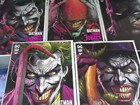 BATMAN THREE JOKERS #1 DC Comics (2020) JASON FABOK PREMIUM 5 COVER SET! [NM]